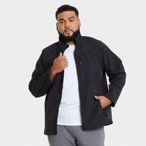 Men's Fleece Softshell Jacket Size 2XB